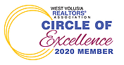 West Volusia Realtors Circle of Excellence 2020 Member
